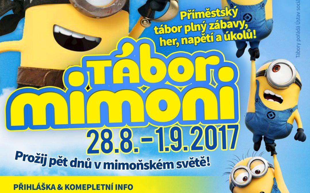 Tábor Mimoni 28.8. – 1.9.2017
