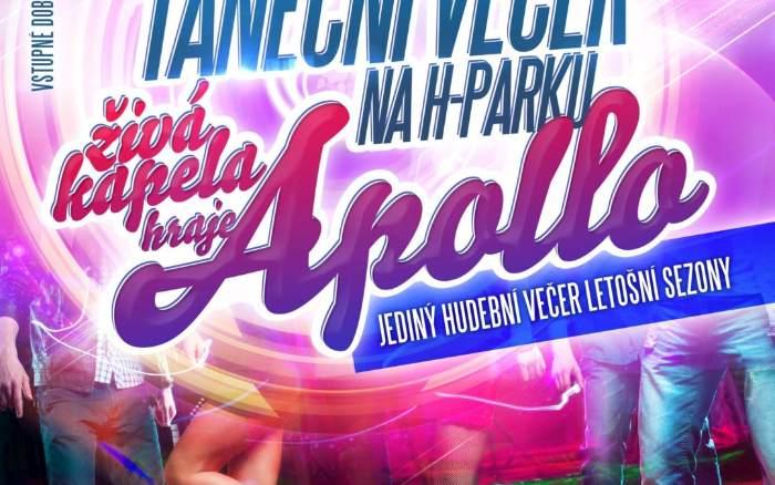 Taneční večer se skupinou Apollo