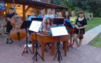 Veřejná zkouška dětské CIMBÁLOVÉ MUZIKY ROSENKA ze dne 6.8.2016