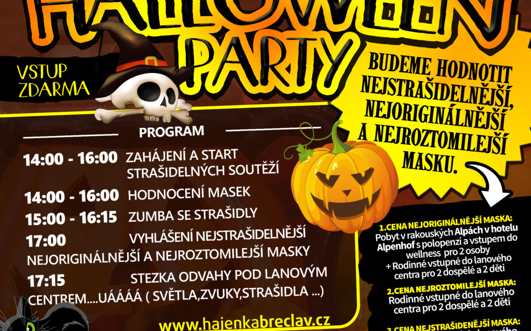 (CZ) Halloween party 2017