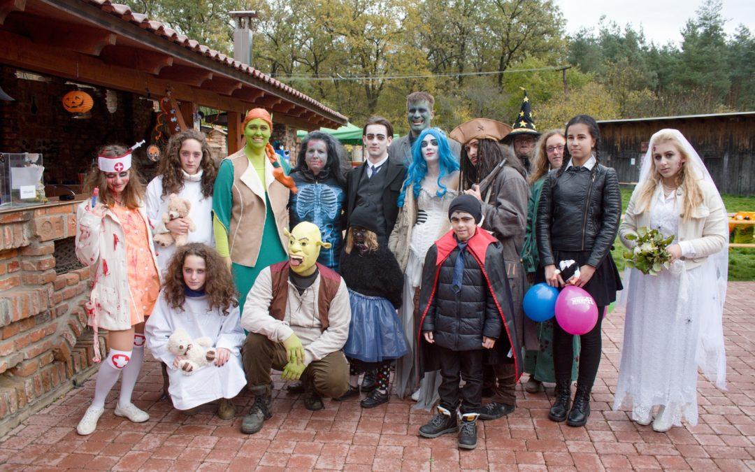 Halloween v H-parku 2017