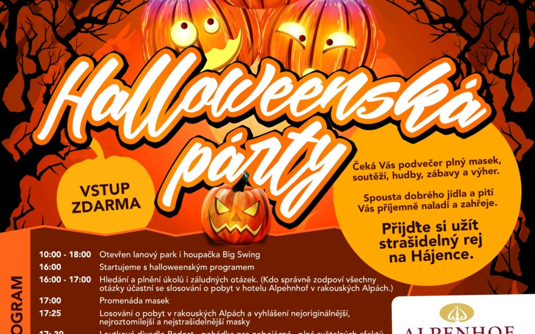 (CZ) Halloween party 2018