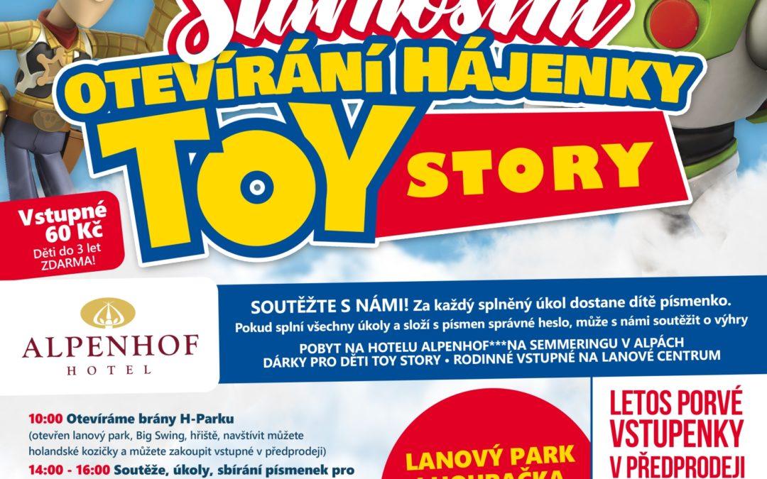 Slavnostní otevření Toy story
