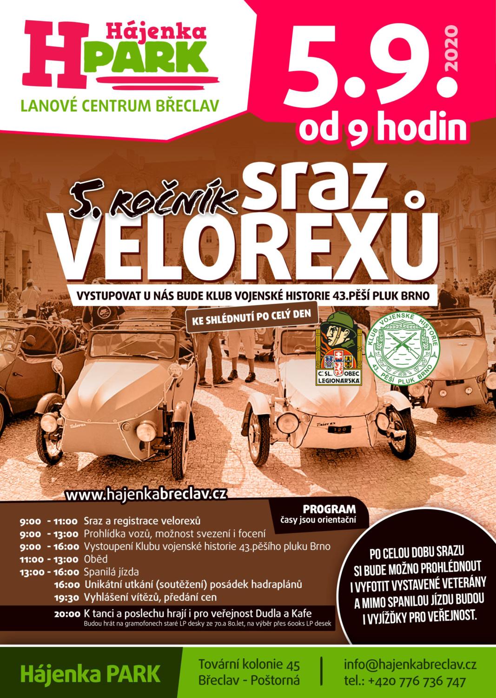 (CZ) Sraz Velorexů 2020